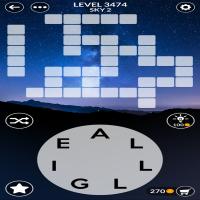 Wordscapes level 3474