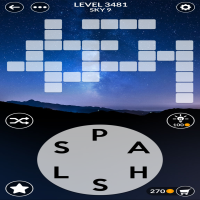 Wordscapes level 3481