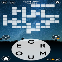 Wordscapes level 3492