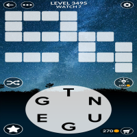 Wordscapes level 3495
