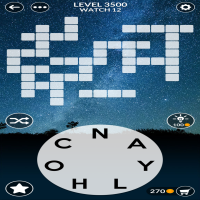 Wordscapes level 3500