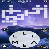 Wordscapes level 3505