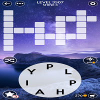 Wordscapes level 3507