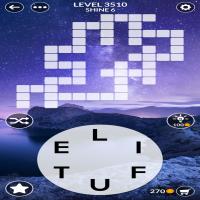 Wordscapes level 3510