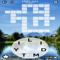 Wordscapes level 3521