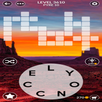 Wordscapes level 3610