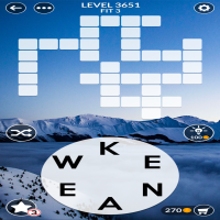 Wordscapes level 3651