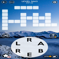 Wordscapes level 3663