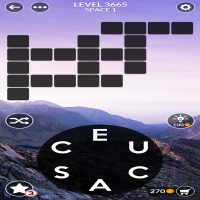 Wordscapes level 3665