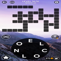 Wordscapes level 3676