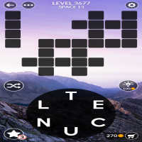 Wordscapes level 3677