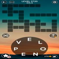 Wordscapes level 3720