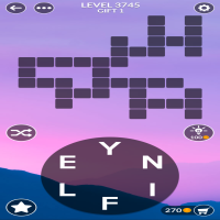 Wordscapes level 3745