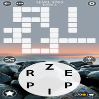 Wordscapes level 3763