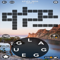 Wordscapes level 3826
