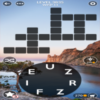 Wordscapes level 3835