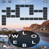 Wordscapes level 3837
