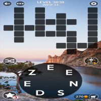 Wordscapes level 3838