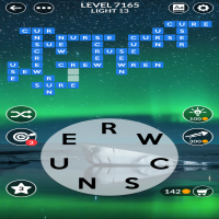 Wordscapes level 7165