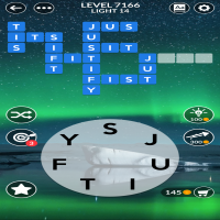 Wordscapes level 7166