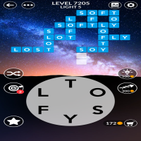 Wordscapes level 7205
