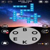 Wordscapes level 7206