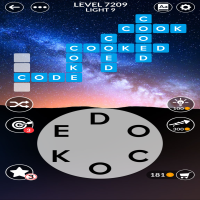 Wordscapes level 7209