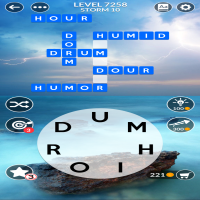 Wordscapes level 7258