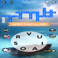 Wordscapes level 7264