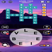 Wordscapes level 7265