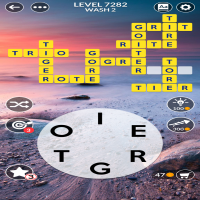 Wordscapes level 7282
