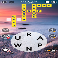 Wordscapes level 7283