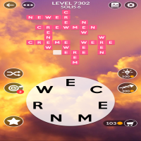 Wordscapes level 7302