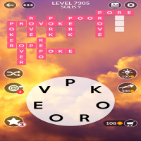 Wordscapes level 7305