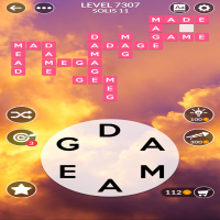 Wordscapes level 7307