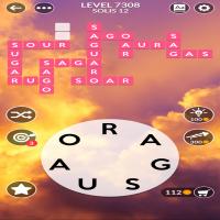 Wordscapes level 7308