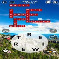 Wordscapes level 7332