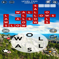 Wordscapes level 7335