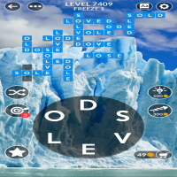 Wordscapes level 7409