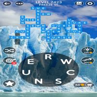 Wordscapes level 7423