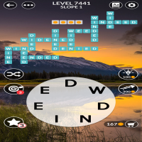 Wordscapes level 7441