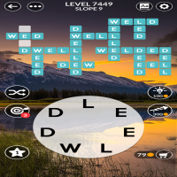 Wordscapes level 7449
