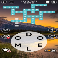 Wordscapes level 7451