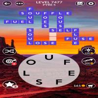 Wordscapes level 7477