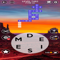 Wordscapes level 7482