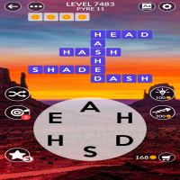 Wordscapes level 7483