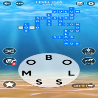 Wordscapes level 7505