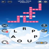 Wordscapes level 7554