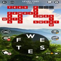 Wordscapes level 7585