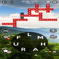 Wordscapes level 7593